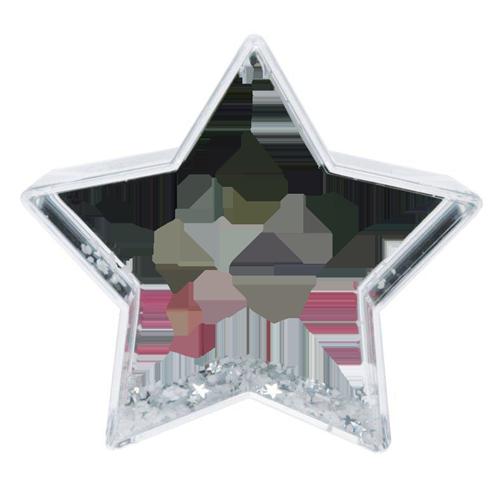 Fényképes ajándéktárgyCsillag Hógömb