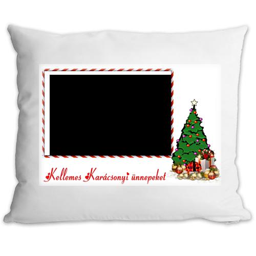 Fényképes ajándéktárgyKarácsonyi Párnahuzat + Párna 1p