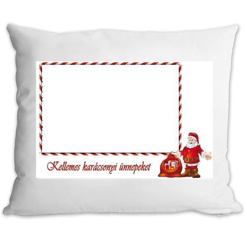 Fényképes ajándéktárgyKarácsonyi Párnahuzat + Párna 7p
