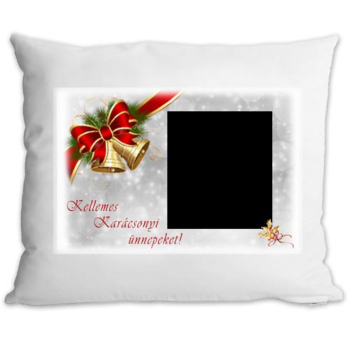 Fényképes ajándéktárgyKarácsonyi Párnahuzat + Párna 8p