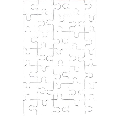 Puzzle 28,5 x 18,5 cm 35 db
