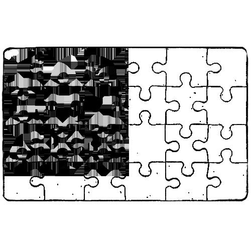 Fényképes Puzzle - 12x19 cm - 24 db