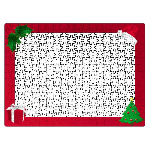 Karácsonyi Puzzle - 29 x 40 cm - 300 db -P02
