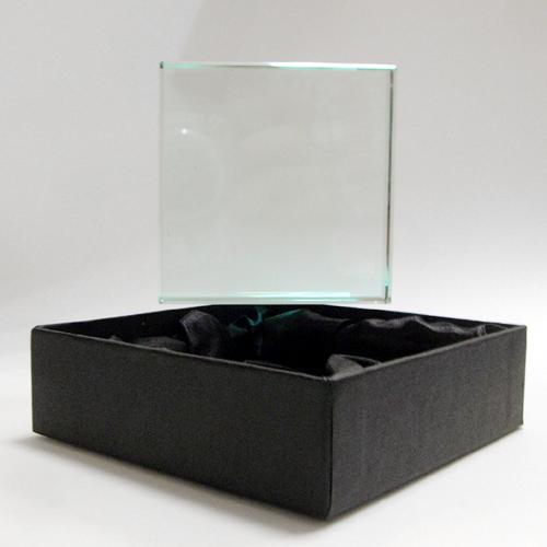 Fényképes ajándéktárgyNégyzetes kristály
