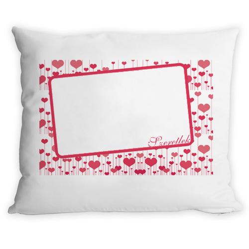 Fényképes ajándéktárgy2014 - Valentine Párna