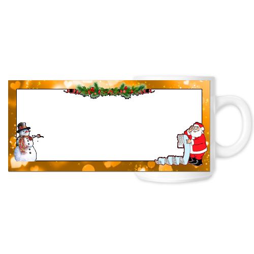 Fényképes ajándéktárgyKarácsonyi Bögre - 05