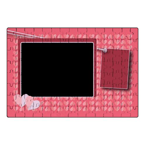 Fényképes ajándéktárgySzerelmes Puzzle - A4 - 120db