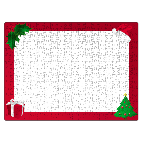 Fényképes ajándéktárgyKarácsonyi Puzzle - 29 x 40 cm - 300 db -P02