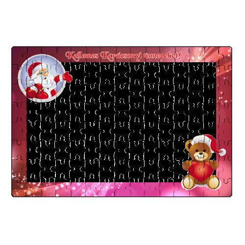Fényképes ajándéktárgyKarácsonyi Puzzle - 20 x 30 cm - 120 db - P03