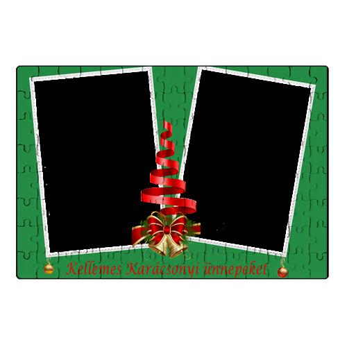 Fényképes ajándéktárgyKarácsonyi Puzzle - 20 x 30 cm - 120 db - P2