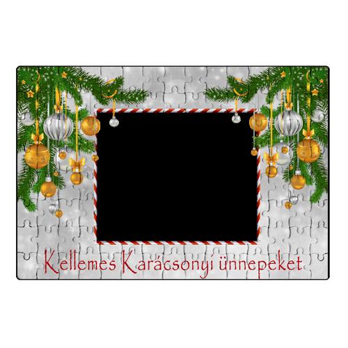 Fényképes ajándéktárgyKarácsonyi Puzzle - 20 x 30 cm - 120 db - P3