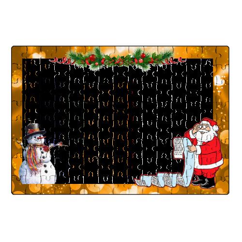 Fényképes ajándéktárgyKarácsonyi Puzzle - 20 x 30 cm - 120 db - P02