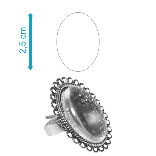 Fényképes ajándéktárgyEzüst színű díszes gyűrű - GY05