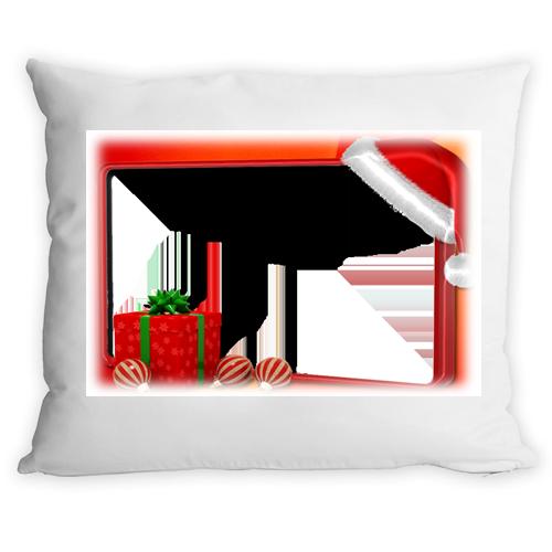 Fényképes ajándéktárgyKarácsonyi Párnahuzat + Párna