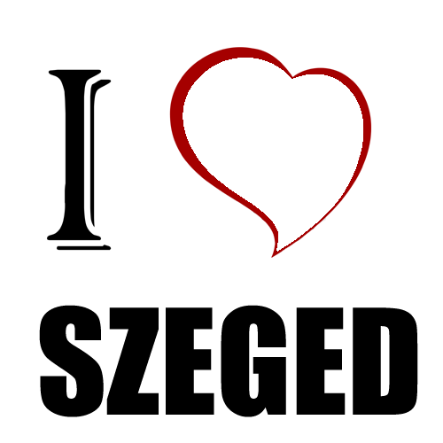 Fényképes ajándéktárgyI Love Szeged - Póló