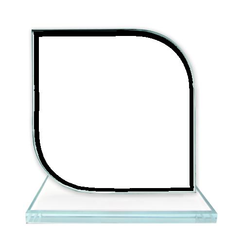 Fényképes ajándéktárgyKerekített Üvegkristály