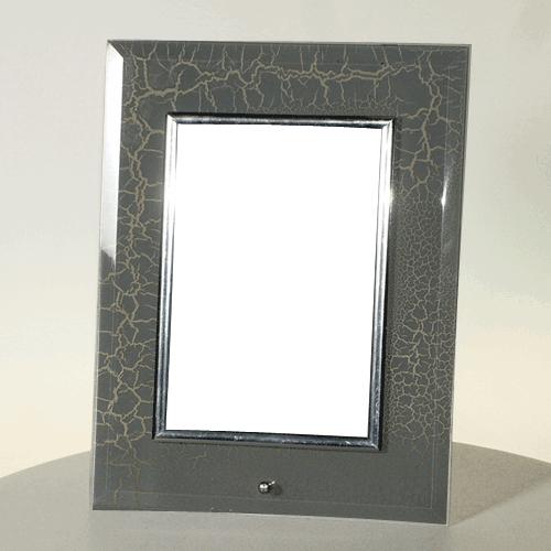 Fényképes ajándéktárgyMárványos Üveg Képkeret