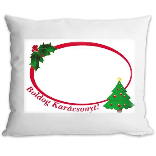 Fényképes ajándéktárgyPárnahuzat Töltettel Karácsonyi Minta 8