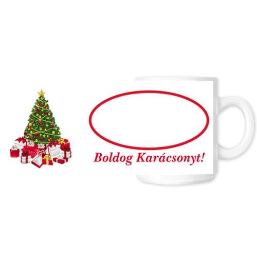Fényképes ajándéktárgyKarácsonyi Bögre - 03