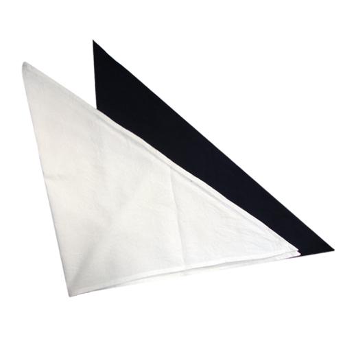 Fényképes fejkendő - fehér