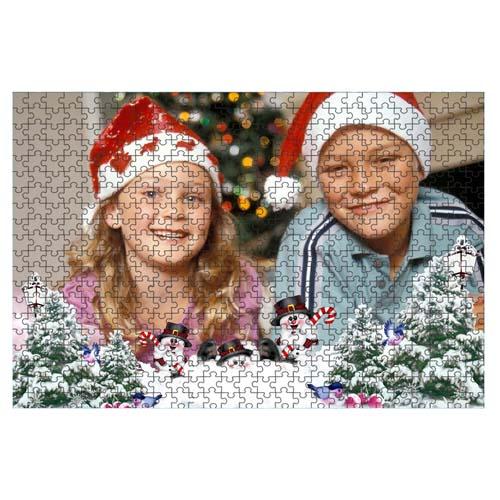 Fényképes ajándéktárgyPuzzle Karácsonyi Minta 1 - 34,5 x 49 - 540 db