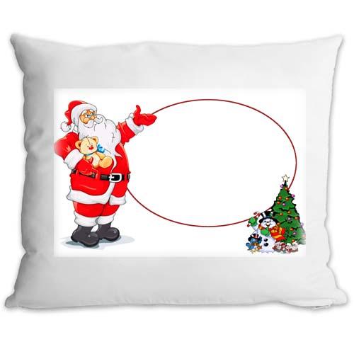 Fényképes ajándéktárgyPárnahuzat Töltettel Karácsonyi Minta 7