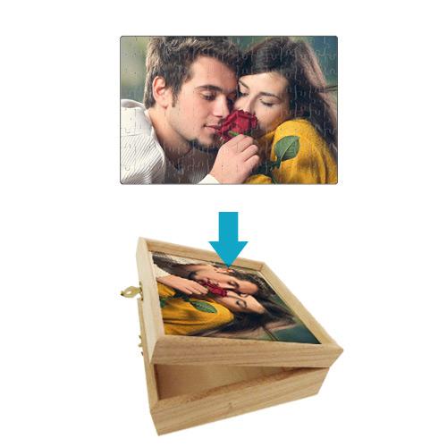 Fényképes ajándéktárgyA4 Puzzle - dobozzal
