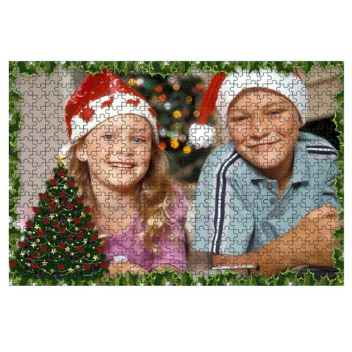 Puzzle Karácsonyi Minta 3 - 20 x 30 cm - 120 db