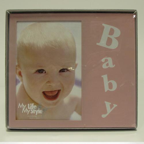 Fényképes ajándéktárgyBaba Rózsaszín Képkeret