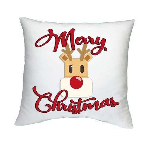 Párnahuzat Töltettel Boldog Karácsonyt 8