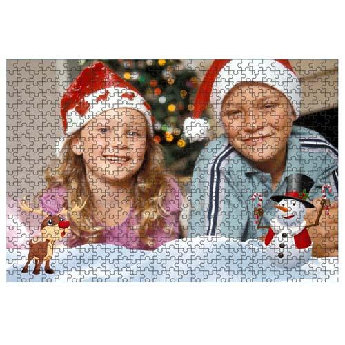 Fényképes ajándéktárgyPuzzle Karácsonyi Minta 2 - 34,5 x 49 - 540 db