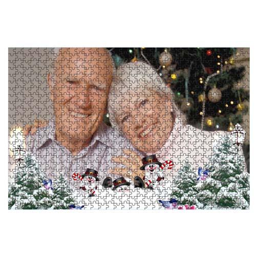 Fényképes ajándéktárgyÓriás Karácsonyi Minta 1 40 x 60 cm - 768 db