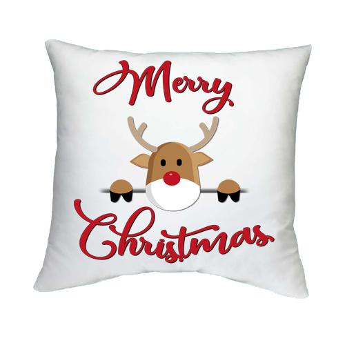 Párnahuzat Töltettel Boldog Karácsonyt 5