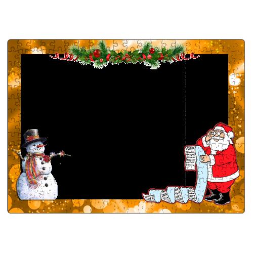 Fényképes ajándéktárgyKarácsonyi Puzzle - 29 x 40 cm - 300 db -P03