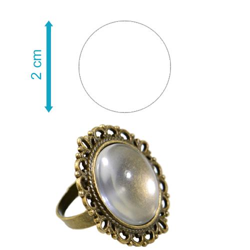 Fényképes ajándéktárgyAntikolt bronz díszes gyűrű - GY02