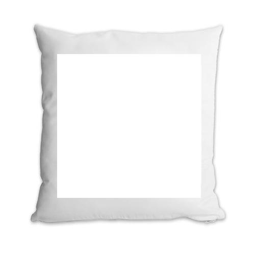 Fényképes ajándéktárgyPárnahuzat Fehér + párna 30 x 30
