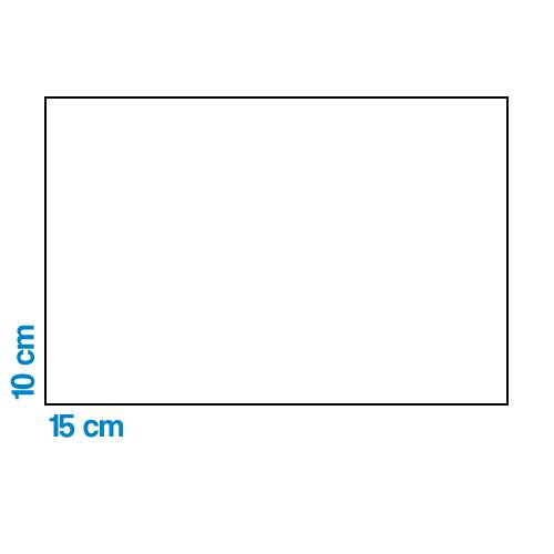Fényképes ajándéktárgyÖntapadós Matrica 10 x 15 cm