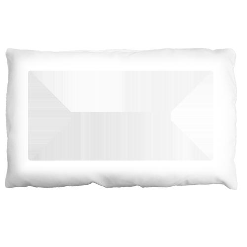 Fényképes ajándéktárgyFehér Párna 40x28 cm