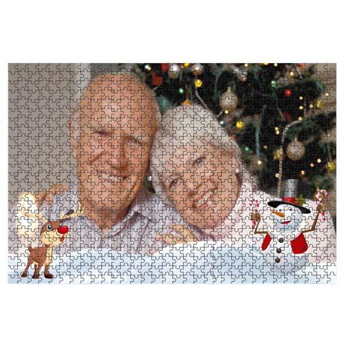 Fényképes ajándéktárgyÓriás Karácsonyi Minta 2 40 x 60 cm - 768 db