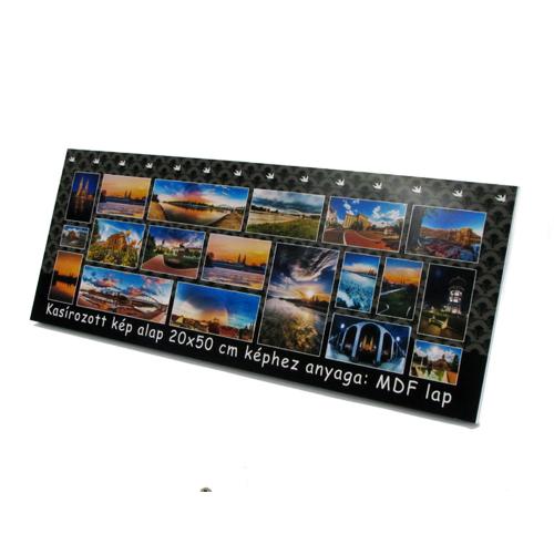 Fényképes ajándéktárgyKasírozott Fotó 20 x 50 cm