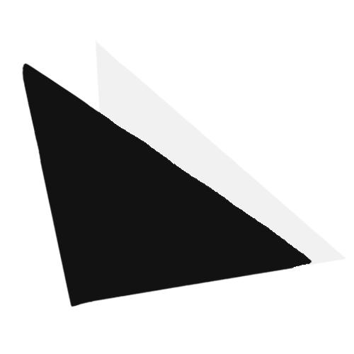 Fényképes fejkendő - fekete