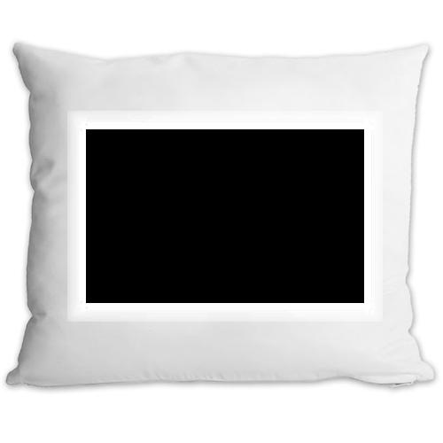Fényképes ajándéktárgyPárnahuzat Fehér Szatén töltet nélkül