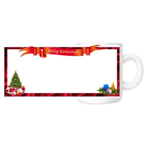 Fényképes ajándéktárgyKarácsonyi Bögre - 04