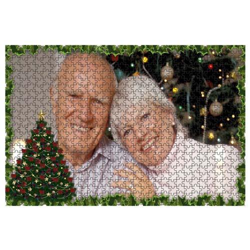 Fényképes ajándéktárgyÓriás Karácsonyi Minta 3 40 x 60 cm - 768 db