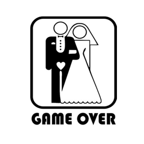 Game Over - Színes póló