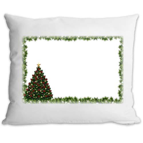 Fényképes ajándéktárgyPárnahuzat Töltettel Karácsonyi Minta 4