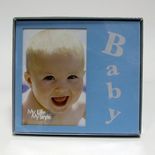 Fényképes ajándéktárgyBaba Kék Képkeret