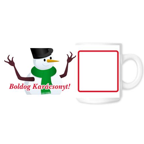 Fényképes ajándéktárgyKarácsonyi Bögre - 01
