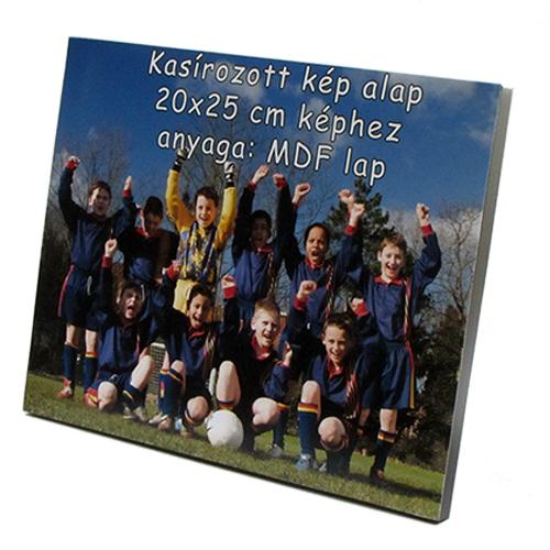 Fényképes ajándéktárgyKasírozott Fotó 20 x 25 x 2,5 cm